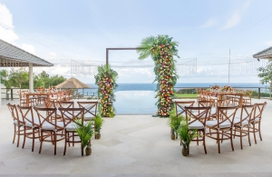 Villa Bale Agung - Wedding Setup